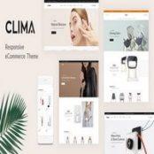 قالب Clima برای پرستاشاپ