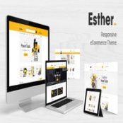 قالب پرستاشاپ Esther