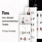 قالب HTML فروشگاهی Flone