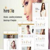 قالب Hiraola – Jewellery eCommerce Bootstrap 4 Template