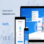 قالب Hostify – قالب HTML هاستینگ و WHMCS
