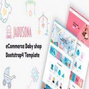 قالب Jadusona – قالب HTML فروشگاه لوازم کودک