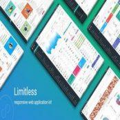 قالب Limitless – کیت HTML وب اپلیکیشن واکنشگرا