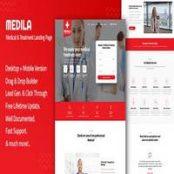 قالب HTML سایت پزشکی و کلینیک Medila