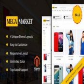 قالب MegaMarket برای فروشگاه ساز مجنتو
