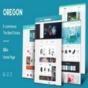 قالب Oregon – قالب فروشگاهی مجنتو