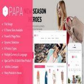 قالب SM Papa برای فروشگاه ساز مجنتو
