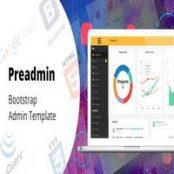 قالب Preadmin – قالب HTML مدیریتی