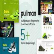 قالب Pullman برای پرستاشاپ