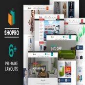 قالب Shopro برای پرستاشاپ