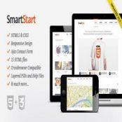 قالب SmartStart – قالب HTML5 واکنش گرا
