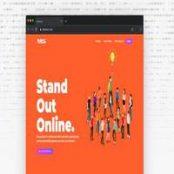 قالب Turus – قالب HTML تک صفحه دیجیتال مارکتینگ