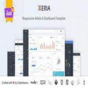 قالب Xeria – قالب HTML مدیریتی