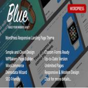 قالب Blue – قالب صفحه فرود وردپرس