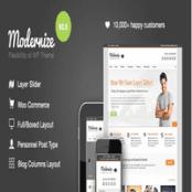 قالب Modernize برای وردپرس