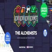 قالب Alchemists راست چین برای وردپرس