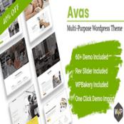 قالب Avas برای وردپرس سازگار با المنتور