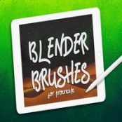 براش پروکریت BLENDER BRUSHES FOR PROCREATE