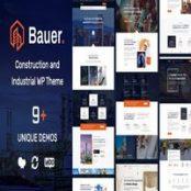 قالب Bauer برای وردپرس