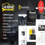 قالب Car Repair Services راست چین برای وردپرس
