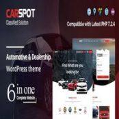 قالب CarSpot راست چین برای وردپرس