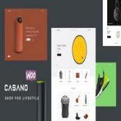 قالب فروشگاهی Casano برای وردپرس