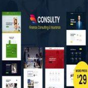 قالب Consulty برای وردپرس