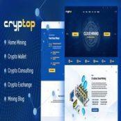 قالب CrypTop برای وردپرس