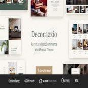 قالب دکوراسیون داخلی Decorazzio برای وردپرس
