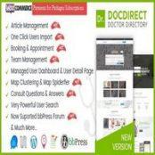 قالب DocDirect راست چین برای وردپرس