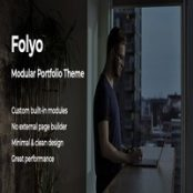 قالب نمونه کار Folyo برای وردپرس