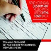 افزونه Form Generating PDF برای وردپرس