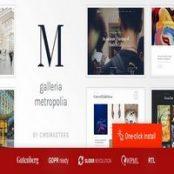قالب Galleria Metropolia برای وردپرس