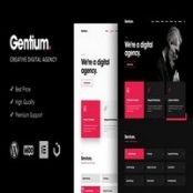 قالب Gentium برای وردپرس