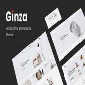 قالب فروشگاهی Ginza برای وردپرس