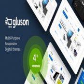 قالب فروشگاهی Gluson برای وردپرس