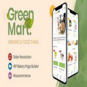 قالب سوپر مارکت GreenMart برای وردپرس