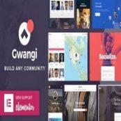 قالب Gwangi برای وردپرس