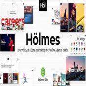 قالب وردپرس Holmes