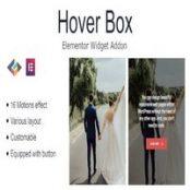 افزونه Hover Box برای المنتور