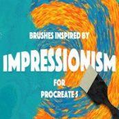براش پروکریت IMPRESSIONISM BRUSHES PROCREATE 5