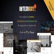 قالب InteriArt برای وردپرس