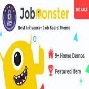 قالب استخدام و کاریابی وردپرس Jobmonster