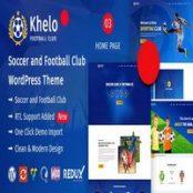 قالب ورزشی Khelo راستچین برای وردپرس