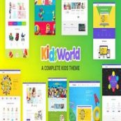 قالب Kids Heaven راست چین برای وردپرس