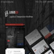 قالب حمل و نقل و باربری وردپرس Logisco