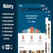 قالب Makery برای وردپرس