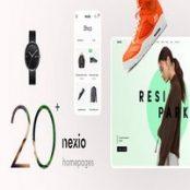 قالب راستچین فروشگاهی Nexio برای وردپرس