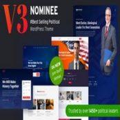 قالب انتخاباتی وردپرس Nominee راست چین