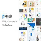 قالب Pangja برای وردپرس